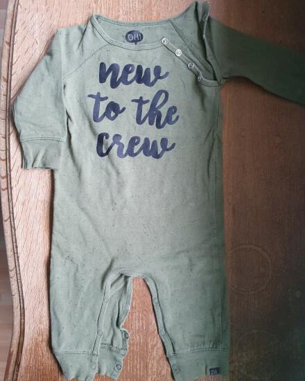Boxpakje groen New To The Crew mt 62