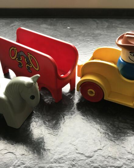 Duplo, paard en wagen