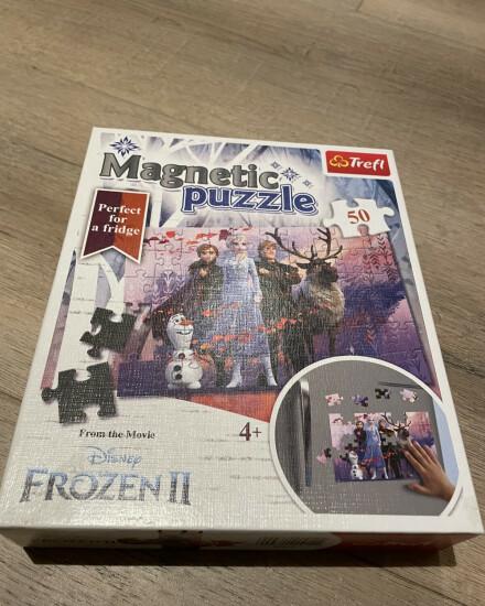 Frozen II magnetische puzzel - 50 stukjes