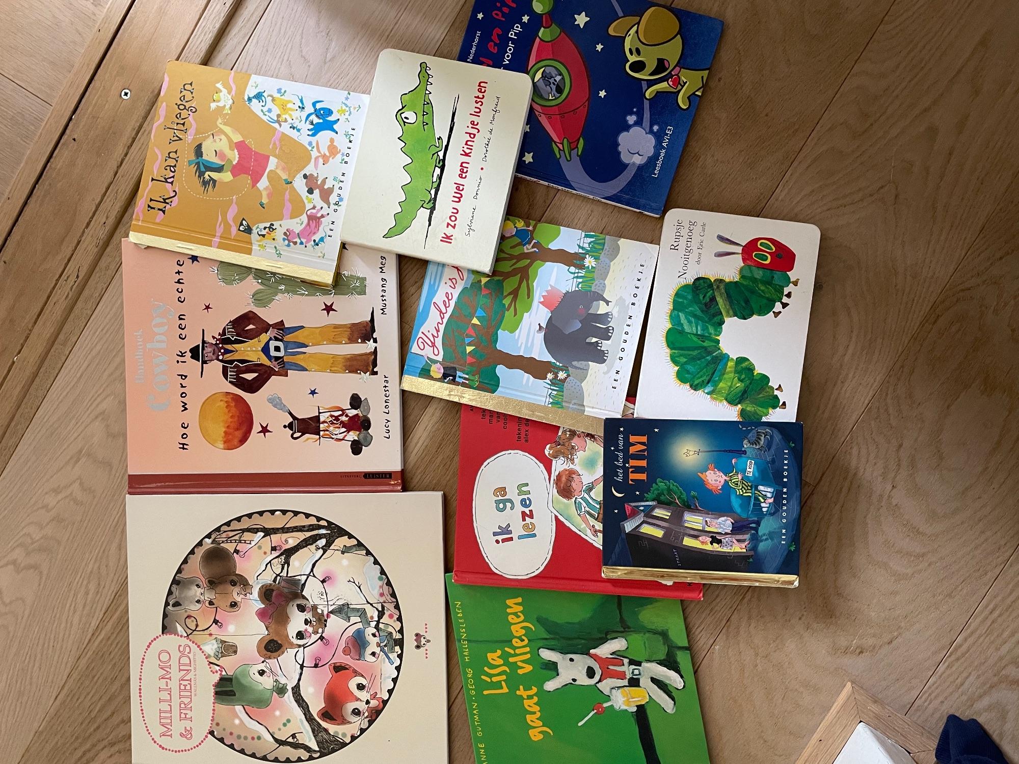 Veel boeken - zie foto's