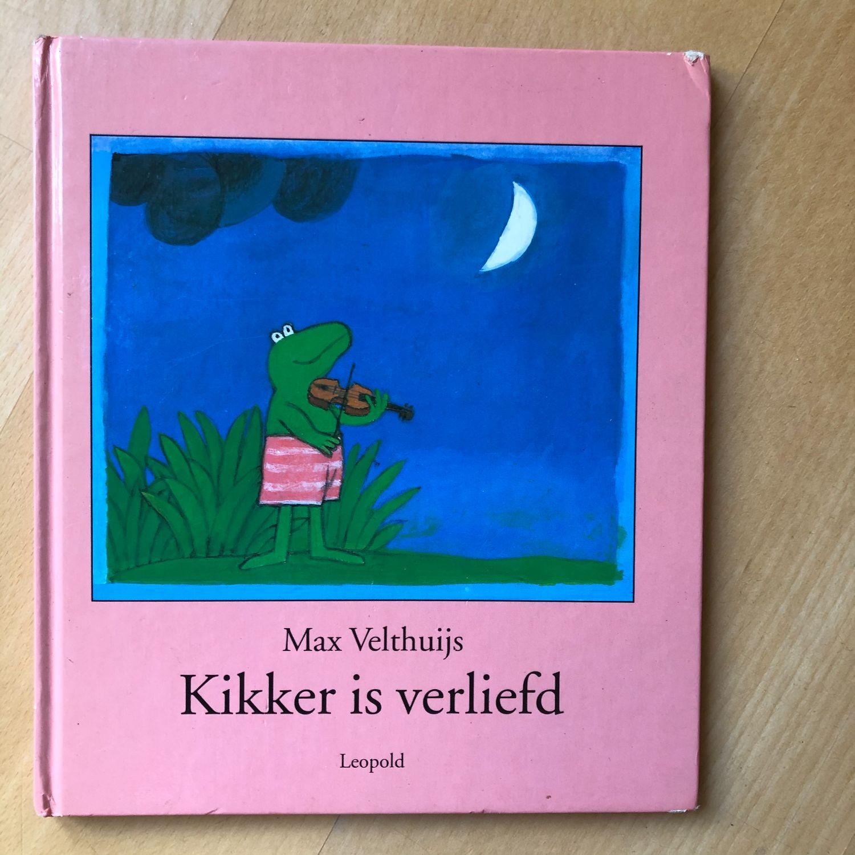 Boek Kikker is verliefd - Max Velthuijs