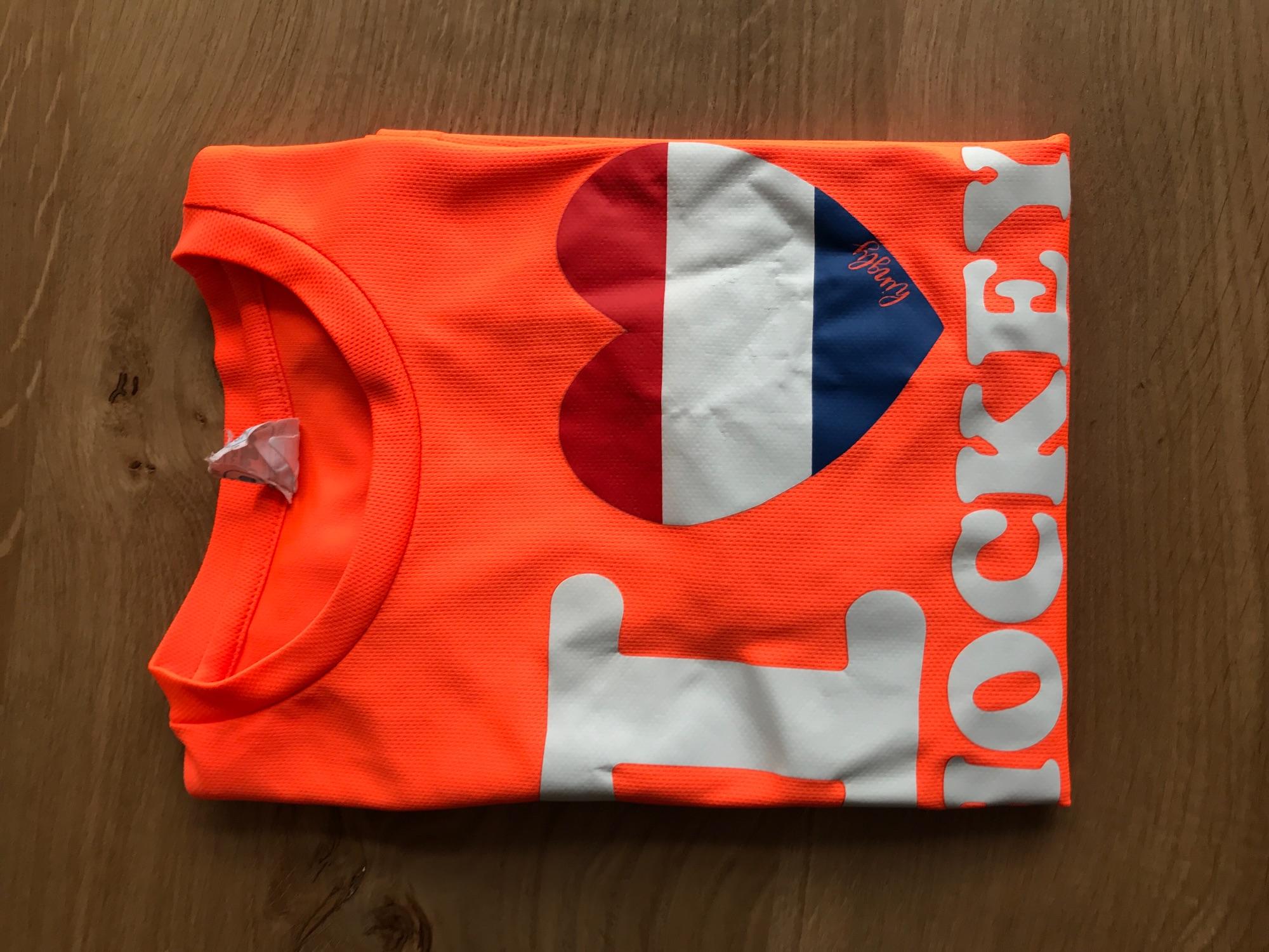 Sport shirt 'I love hockey'