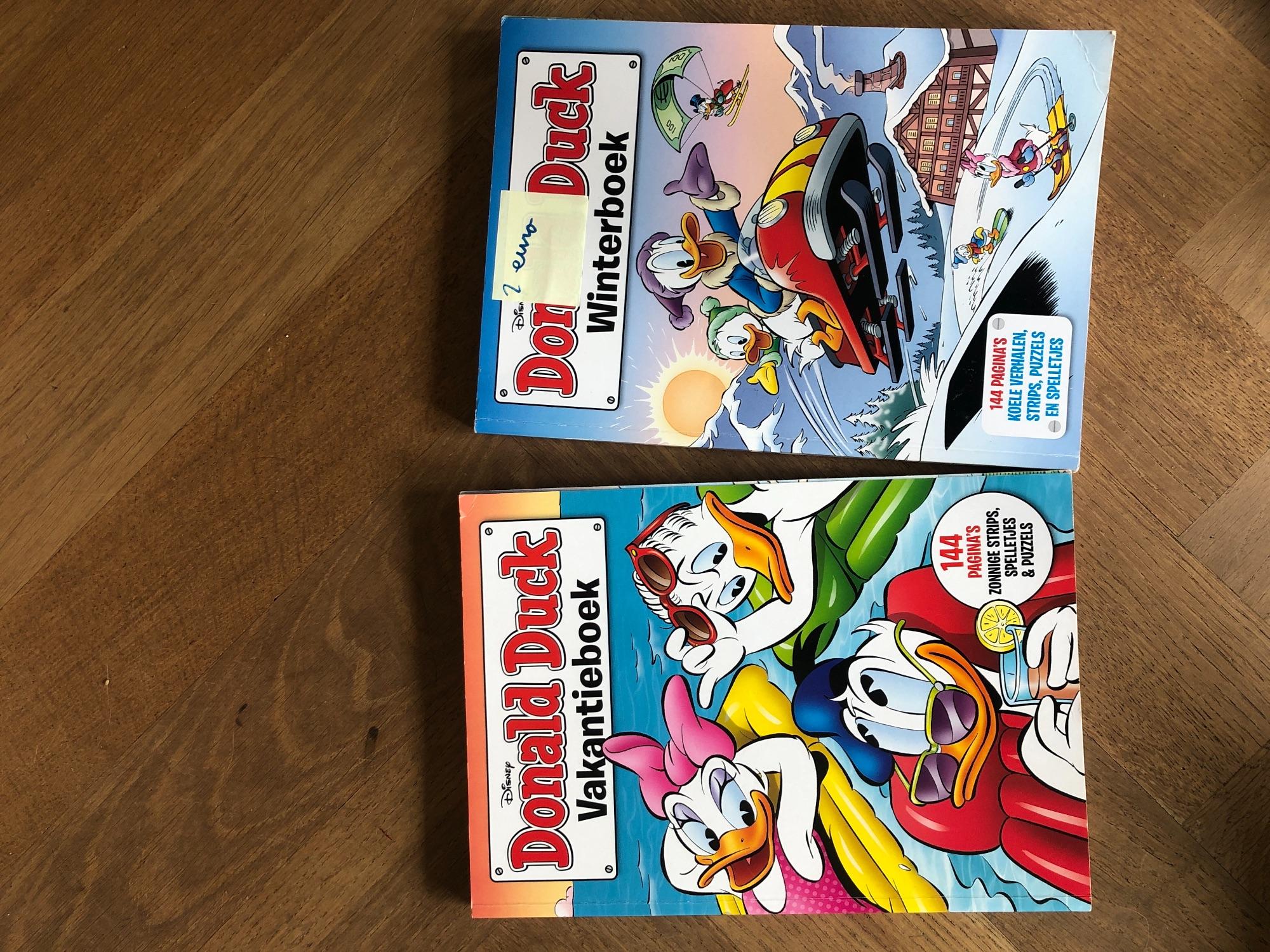 Donald Duck vakantie - en winterboek