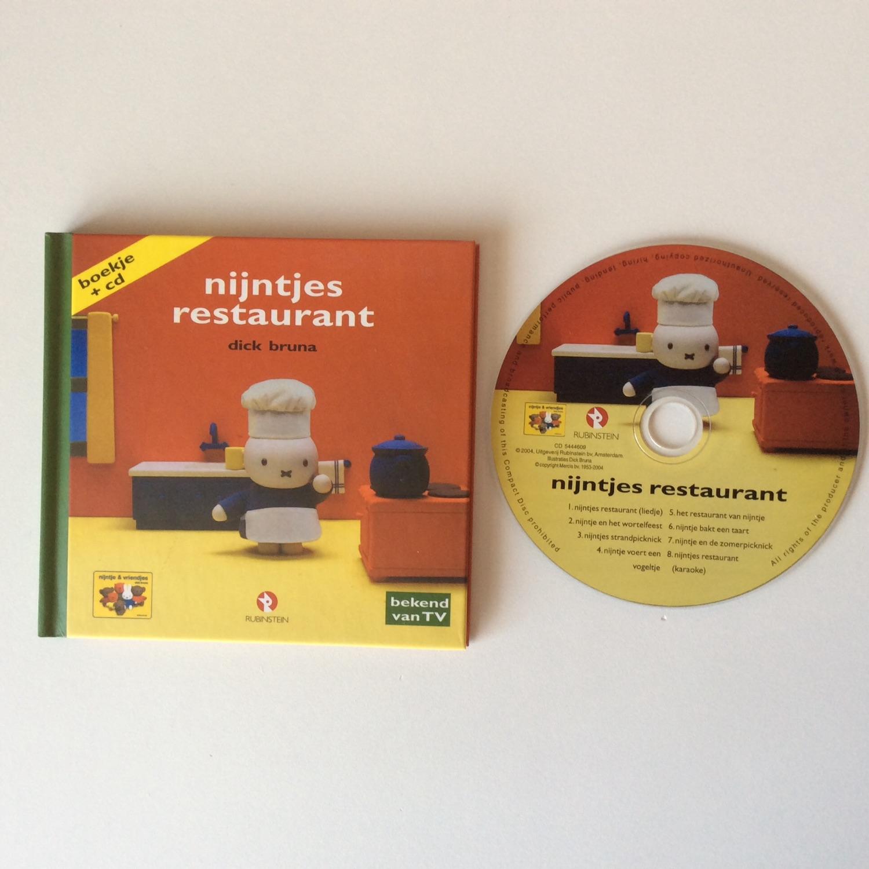 Drie boekjes met bijbehorende CD van Nijntje