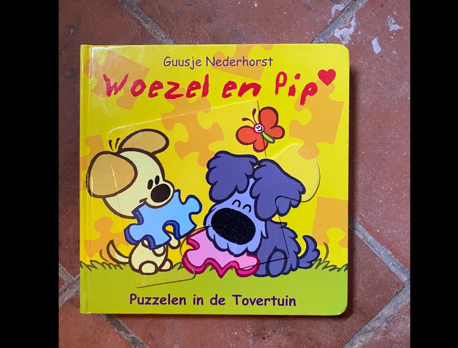 Woezel en Pip puzzelboek
