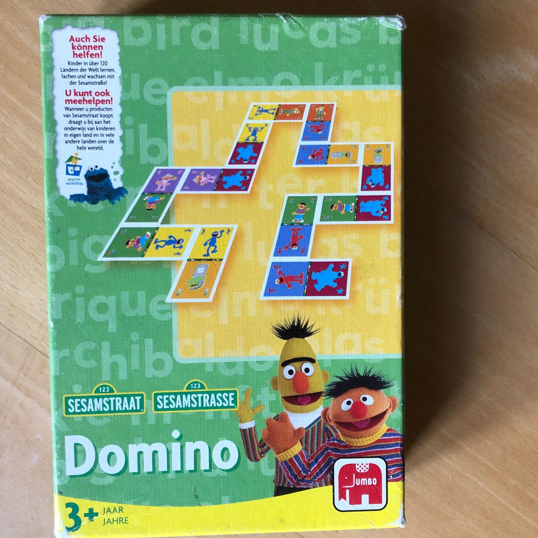Spel Domino Sesamstraat