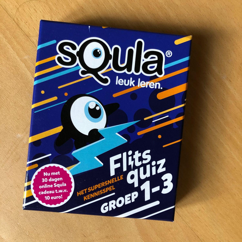 Nieuw: Spel Squla - Flits quiz groep 1-3
