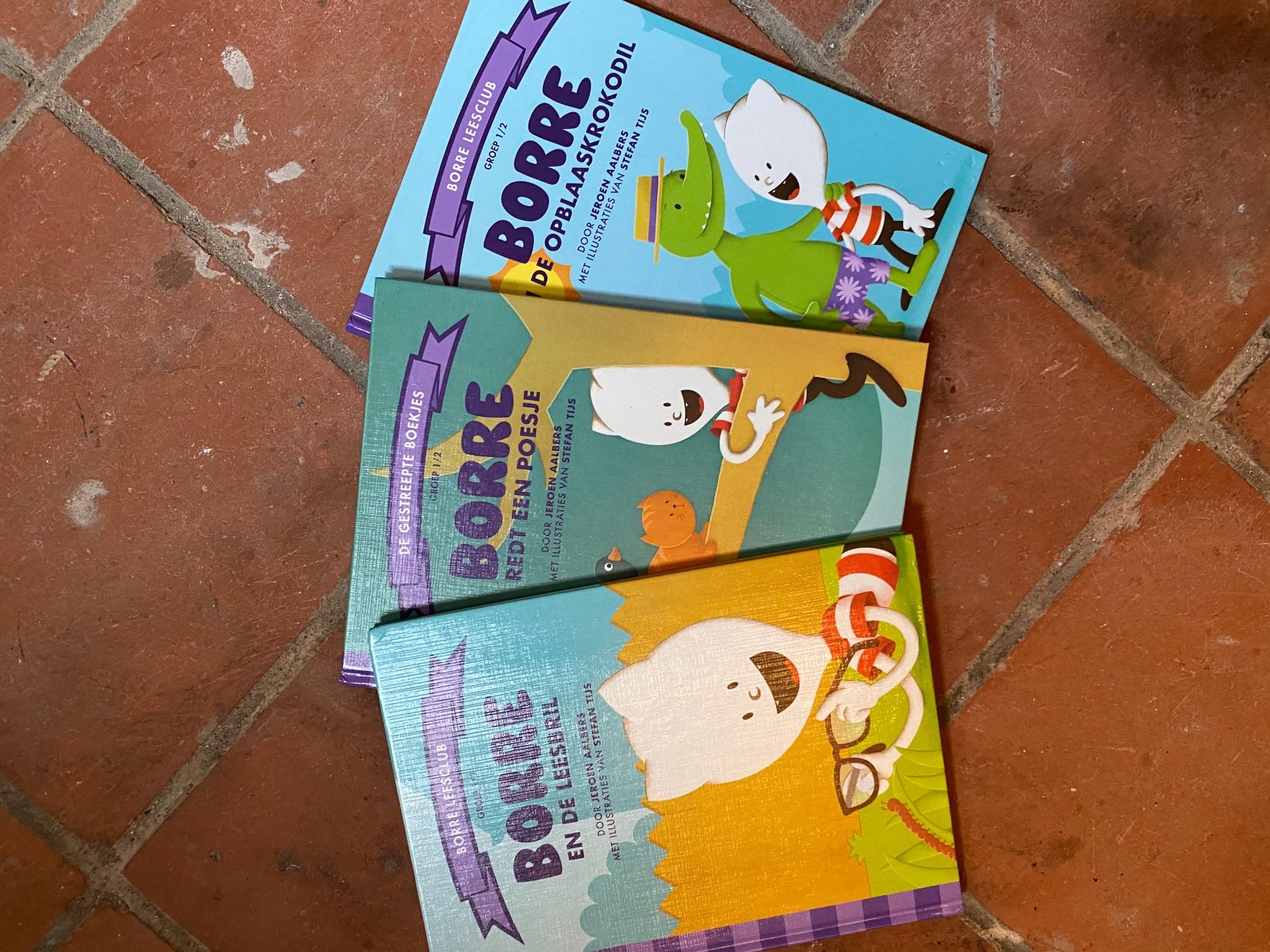 3 Borre leesboekjes
