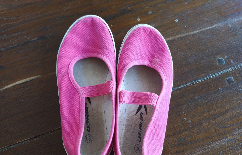 gymschoentjes roze maat 30