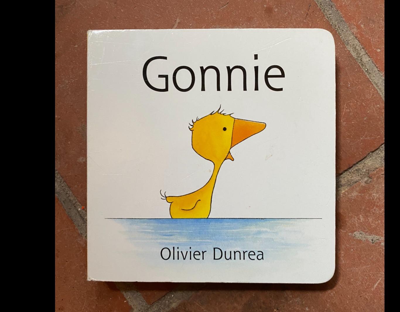 Kartonnen boekje Gonnie