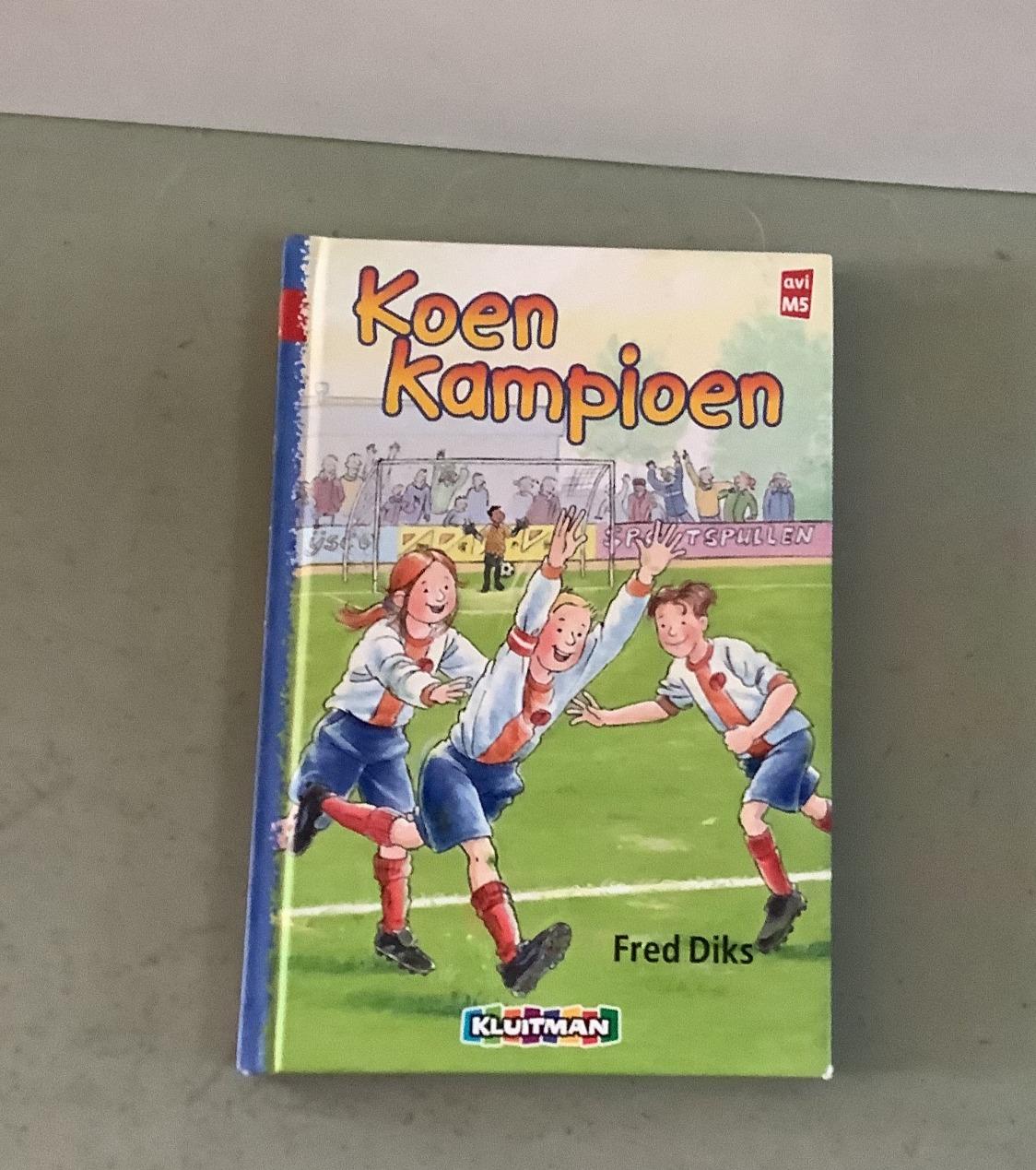 Boek Koen Kampioen