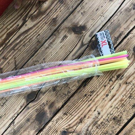 Super lange rietjes voor kinderfeestje