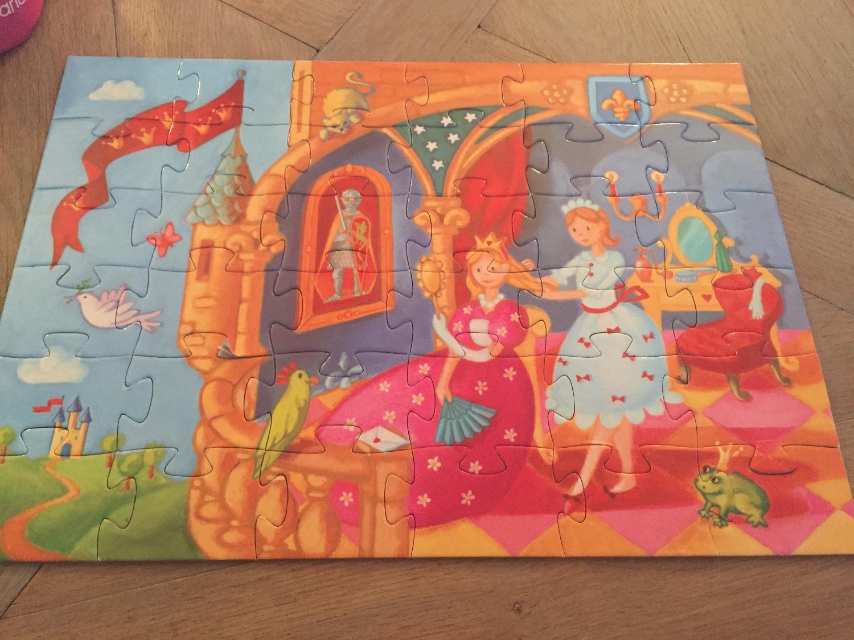 Prinsessen puzzel 36 stukjes