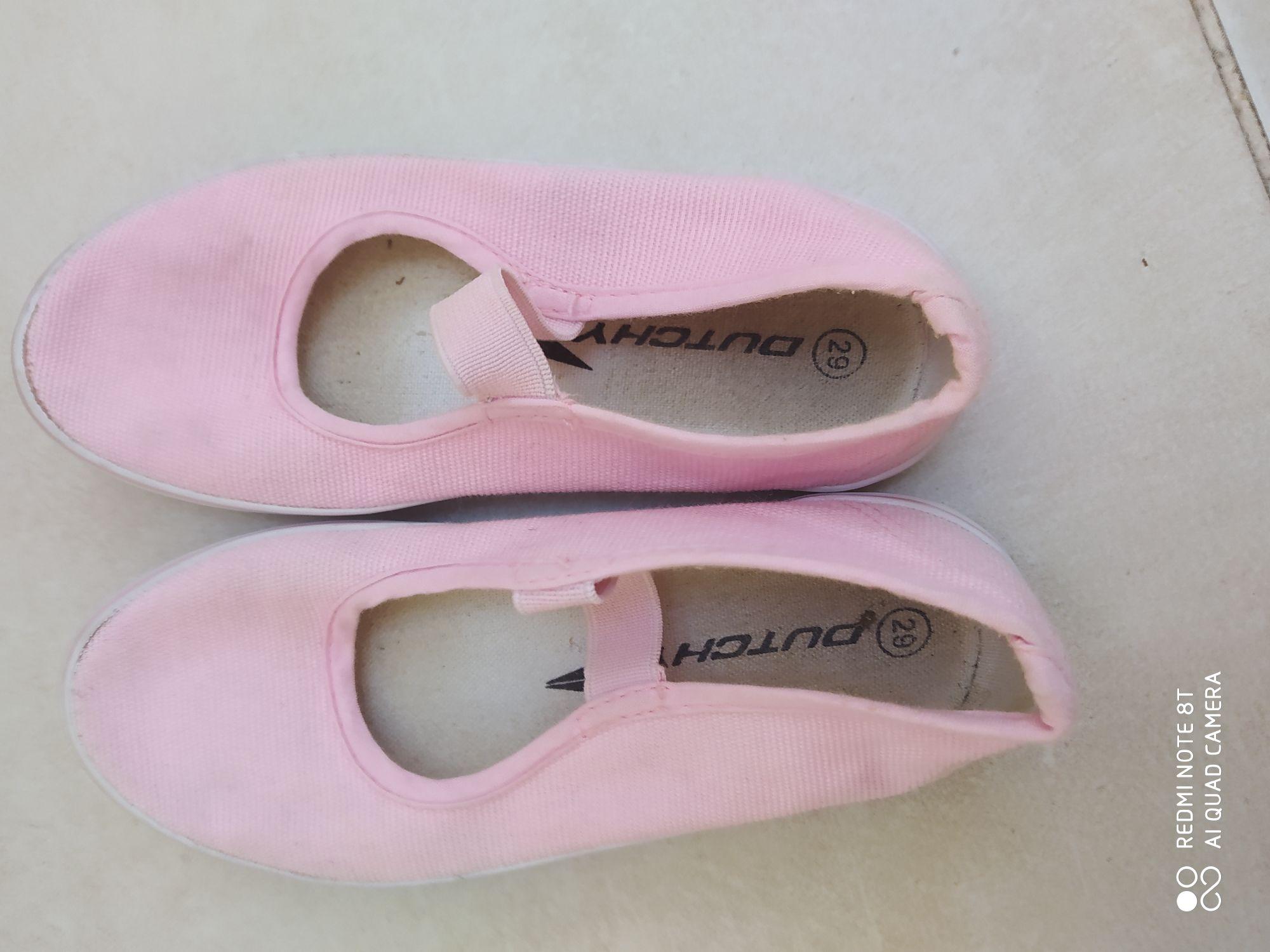 gymschoentjes roze maat 29