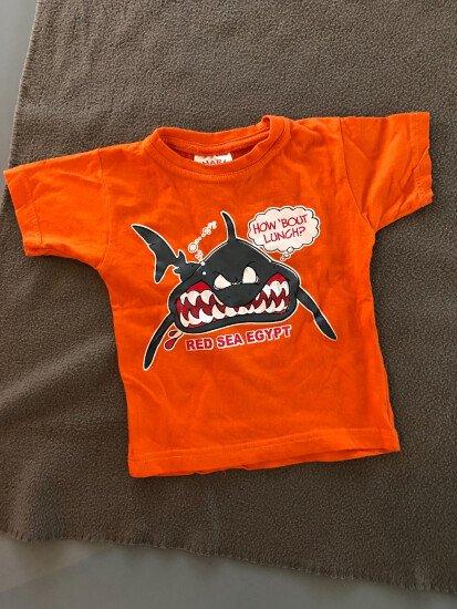 Oranje t- shirt