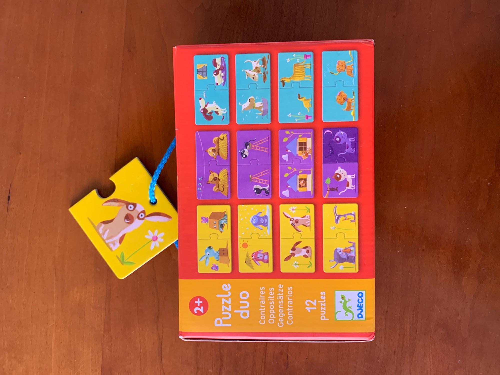 Djeco puzzel 2+