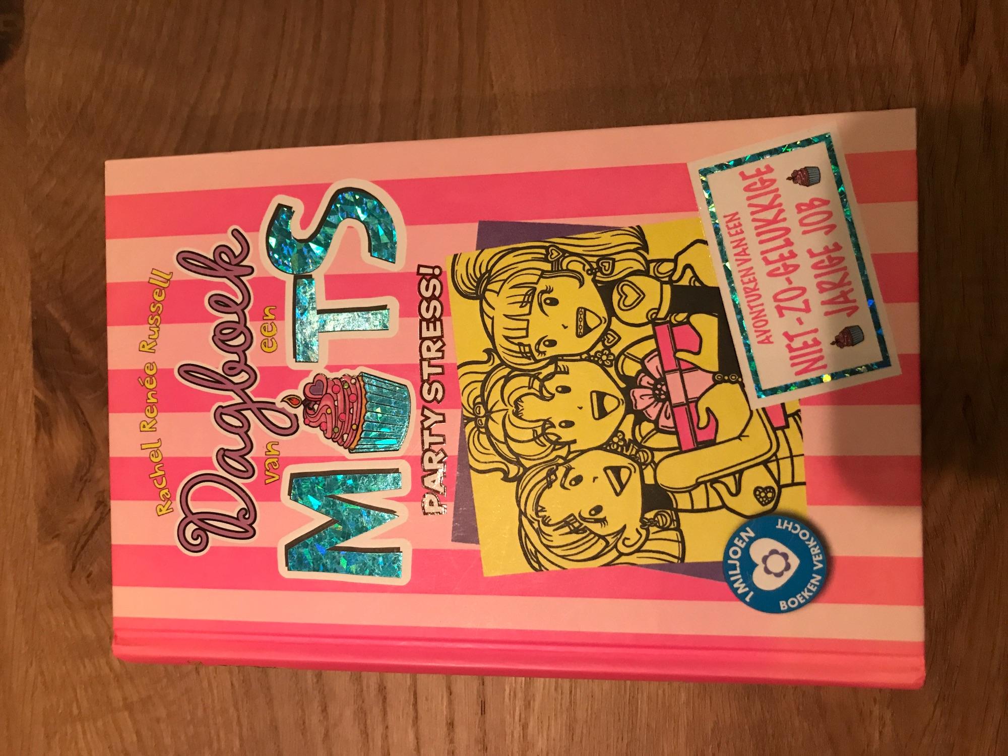 Dagboek van een muts, party stress!