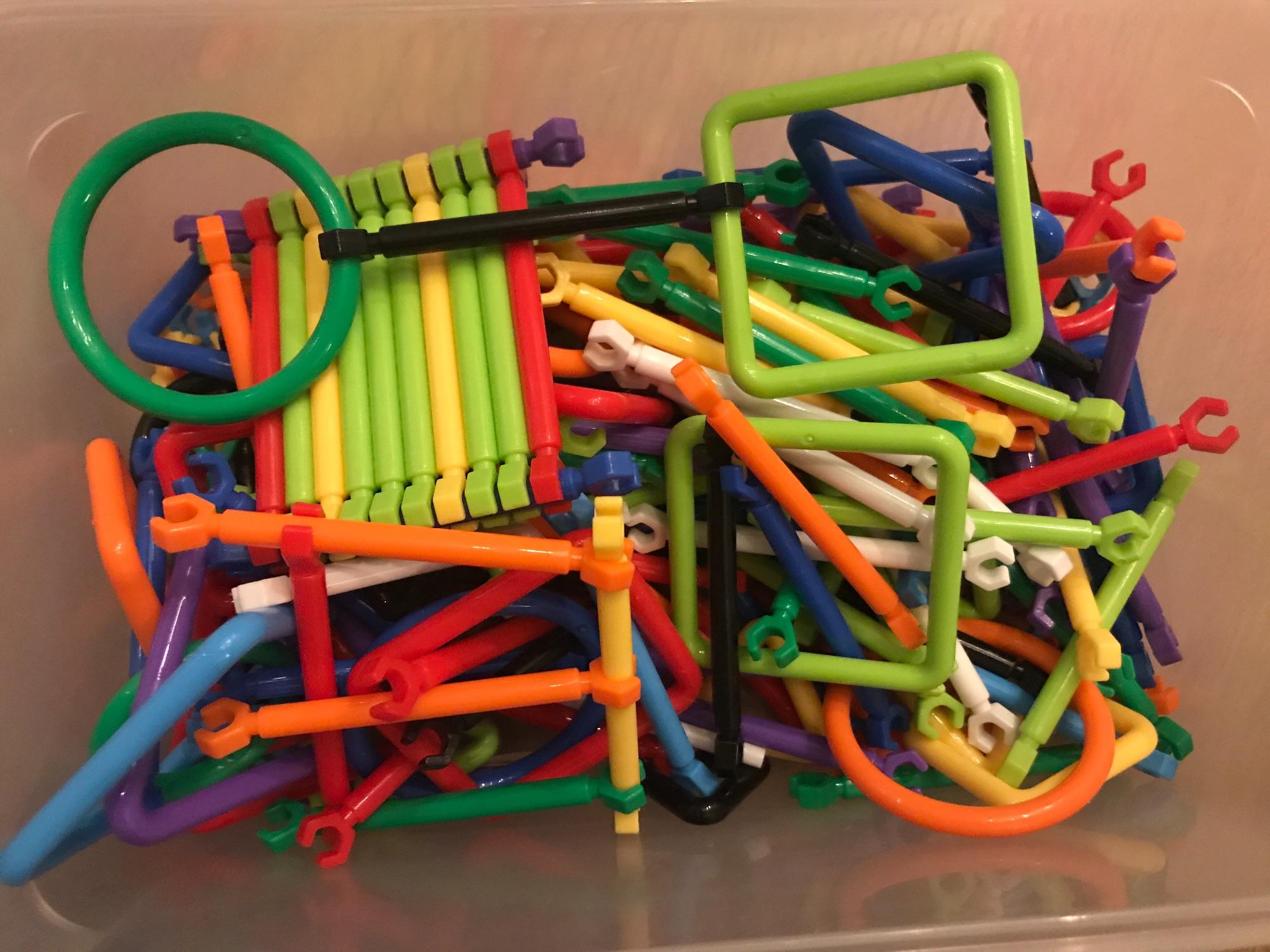 Smart stick bouwset