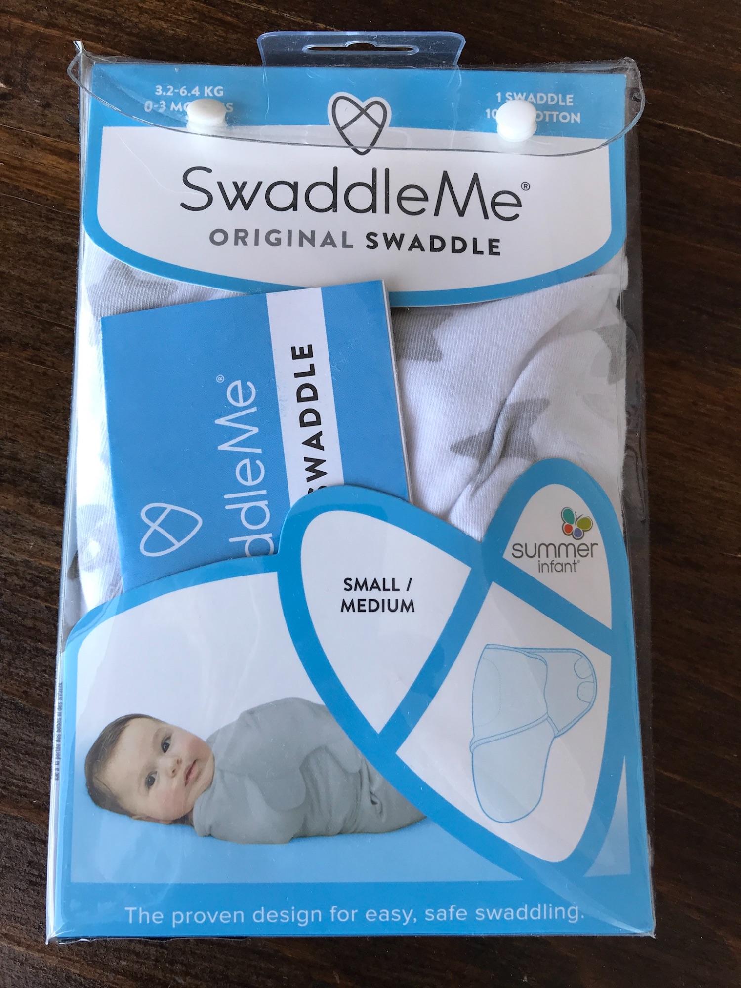 Swaddle me Original small (bakerdoek)