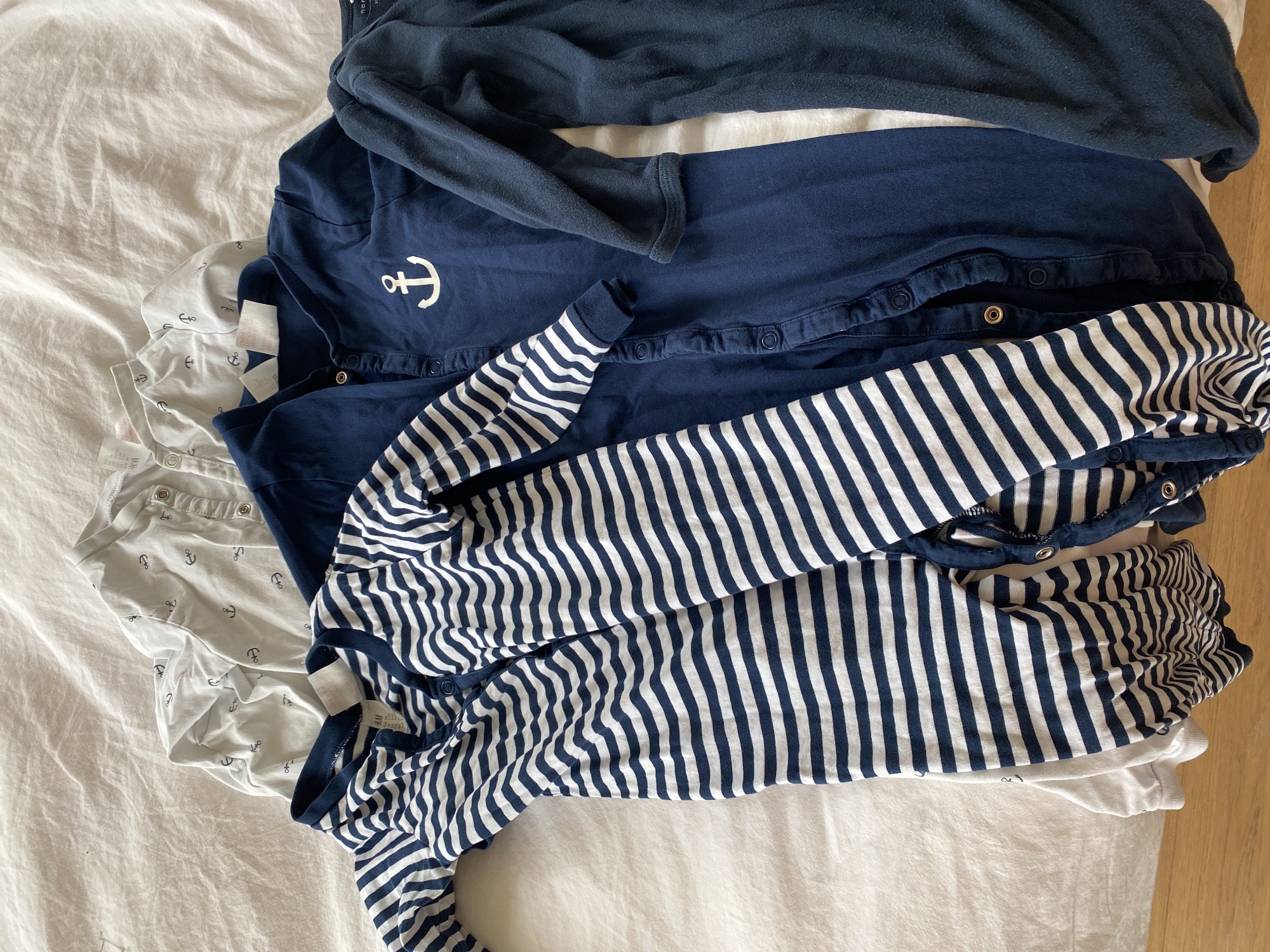 Set van 5 pyjama pakjes