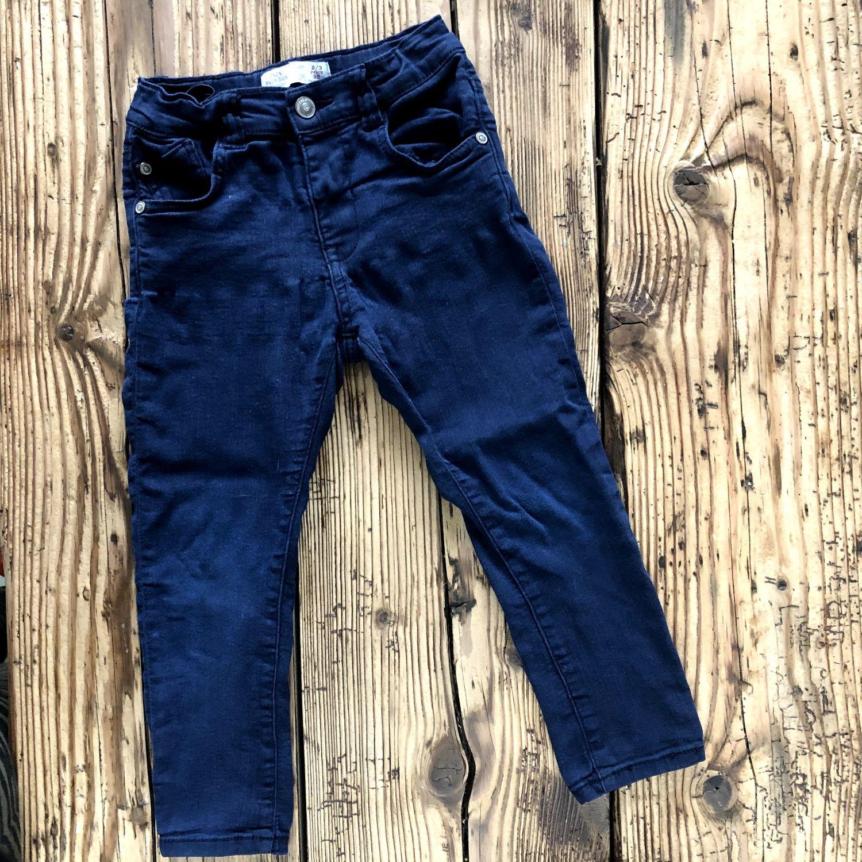 Skinny broek Zara donkerblauw