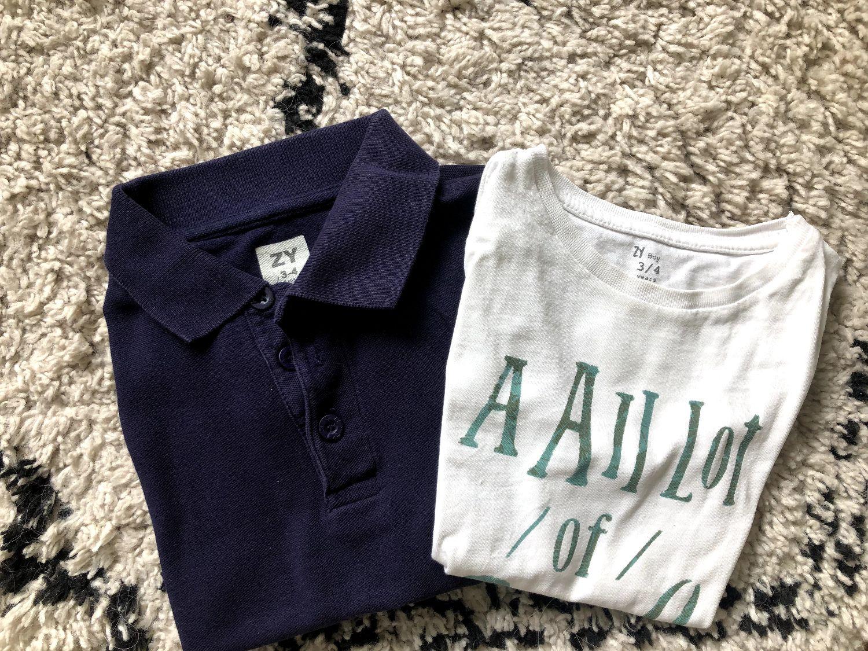 Polo en shirtje 3/4 jaar