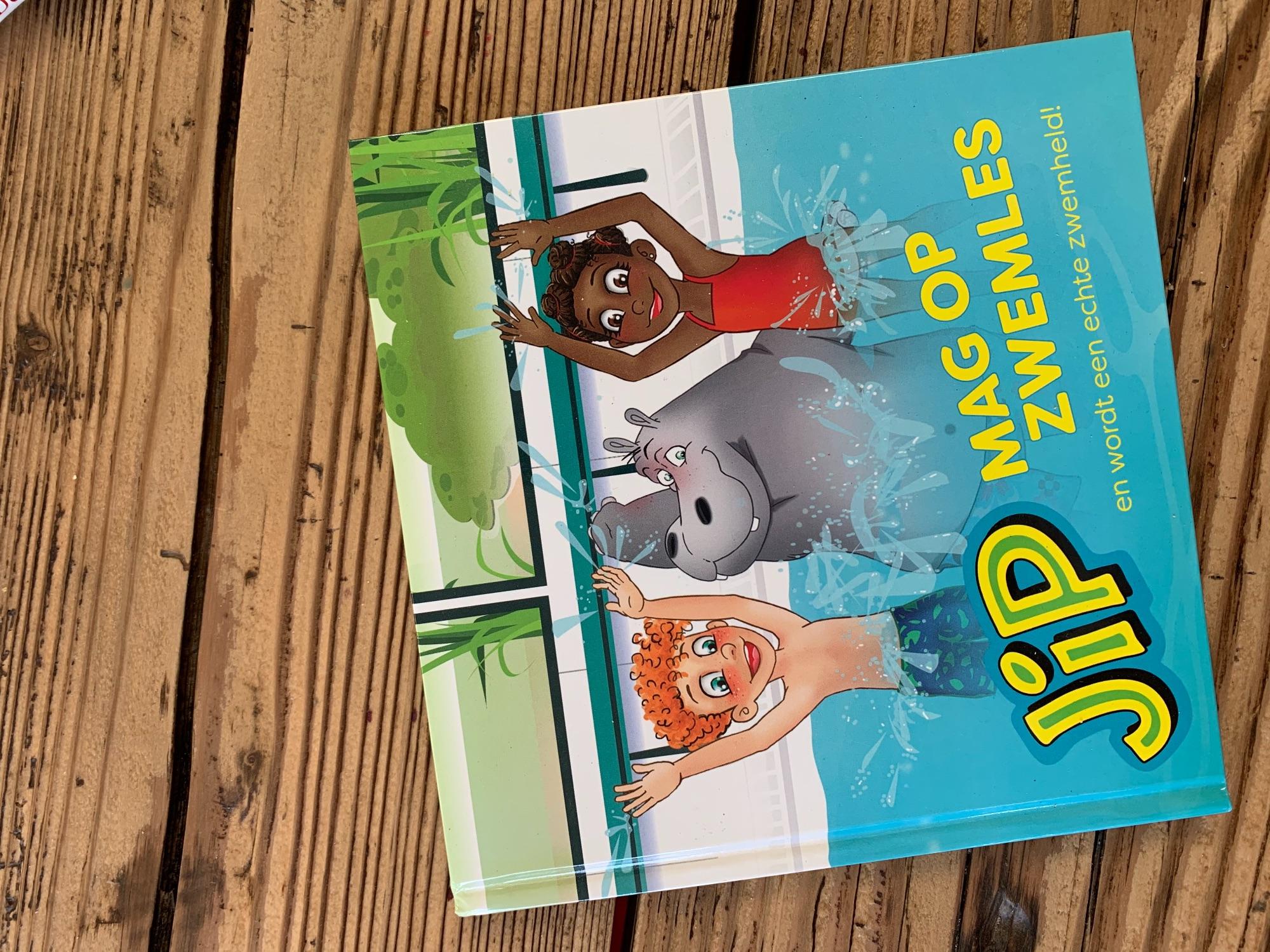 Boek: Jip mag op zwemles