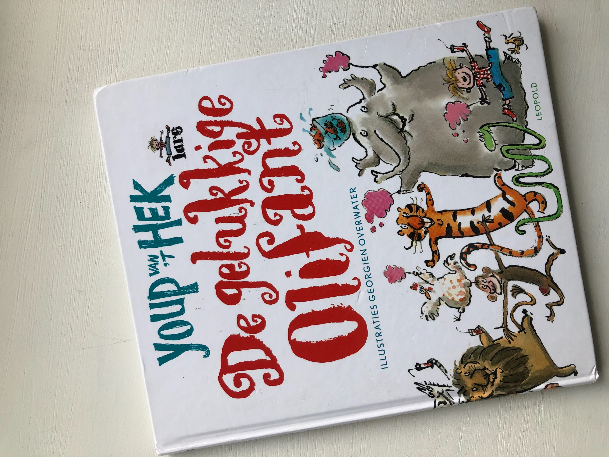 Kinderboek van Youp van 't Hek: Gelukkige olifant