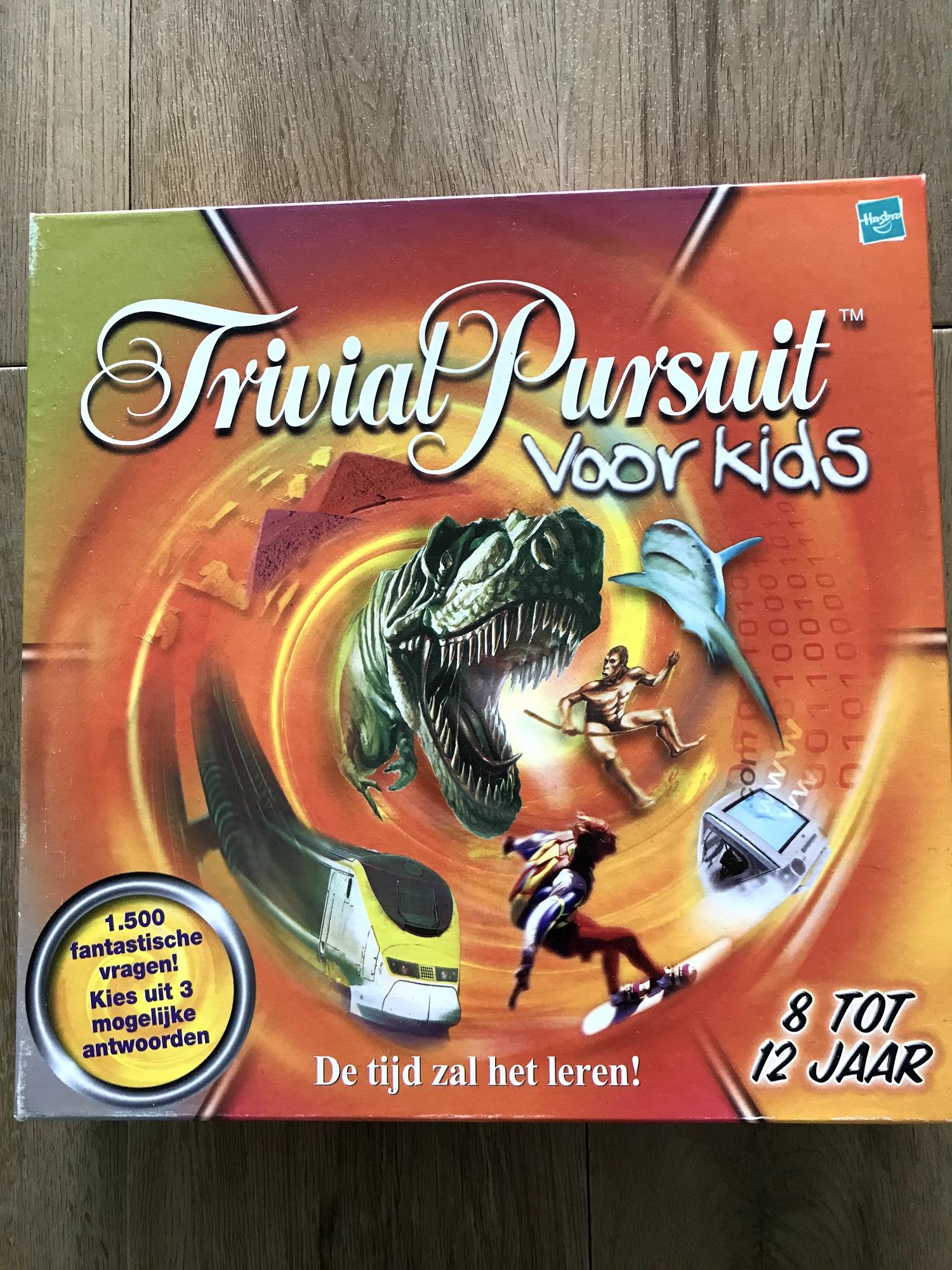 Spel: Triviat Pursuit voor Kids