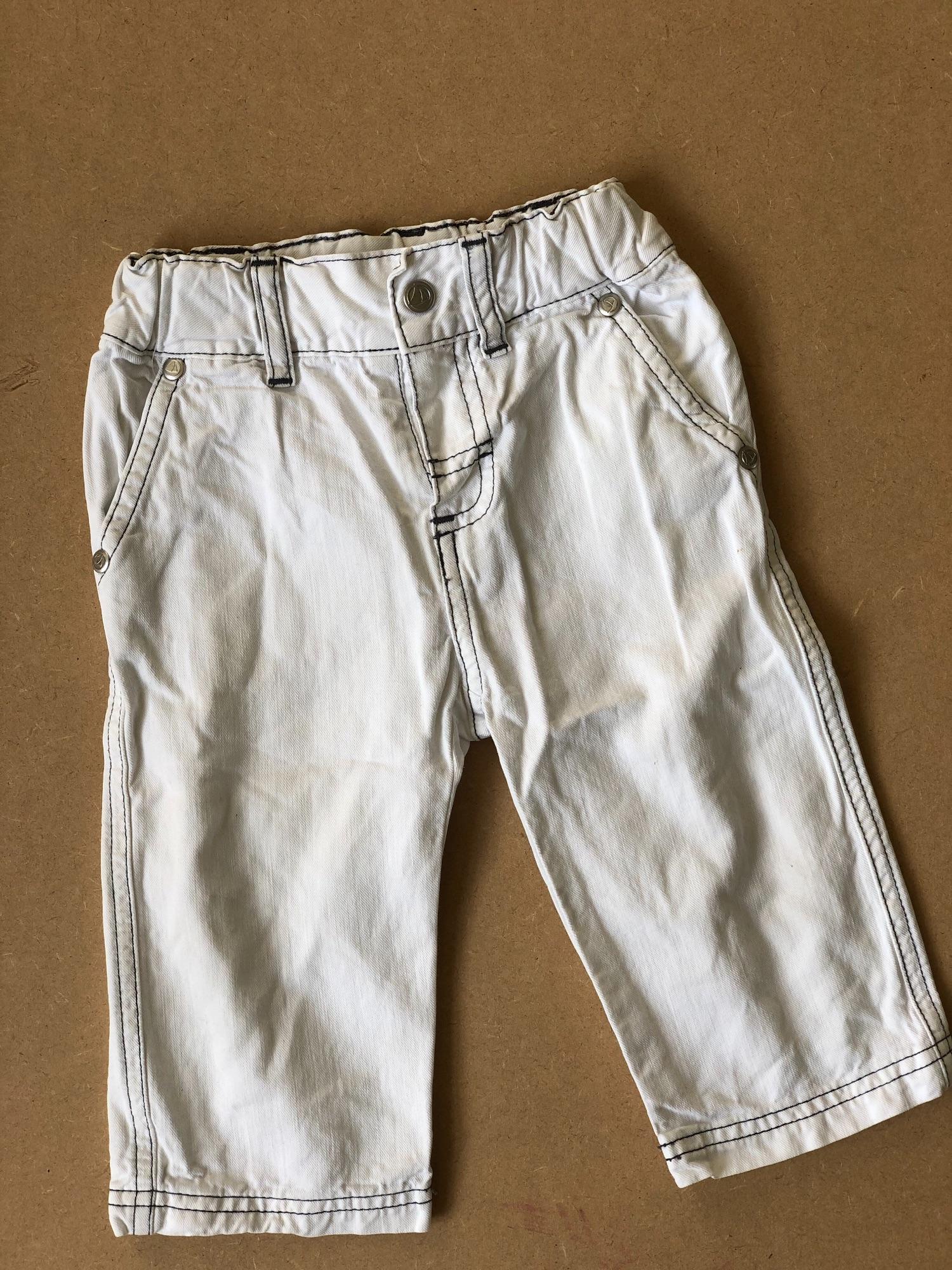 Nette witte broek van Petit Bateau