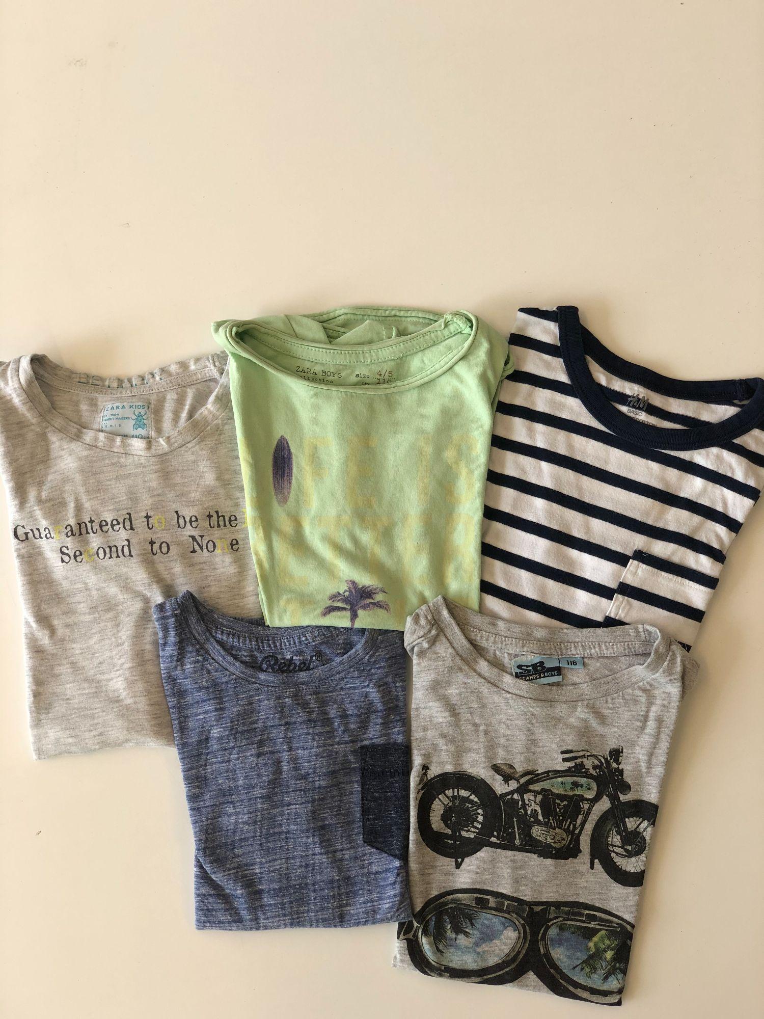 Pakket t-shirts