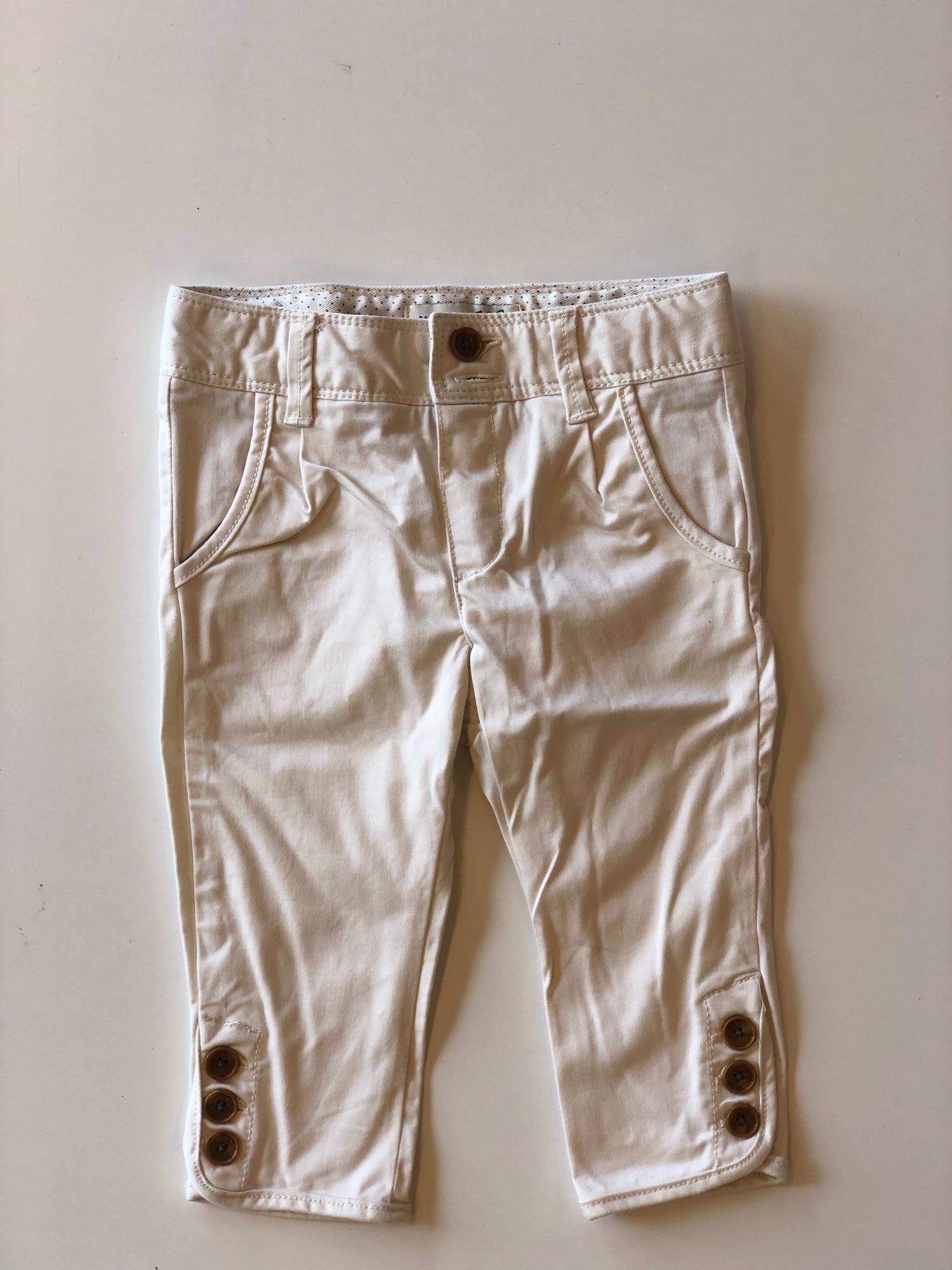 Witte broekje