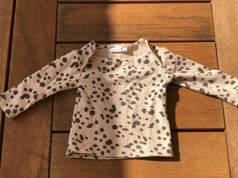 Twee shirtjes mt 56, Dirkje en Prenatal