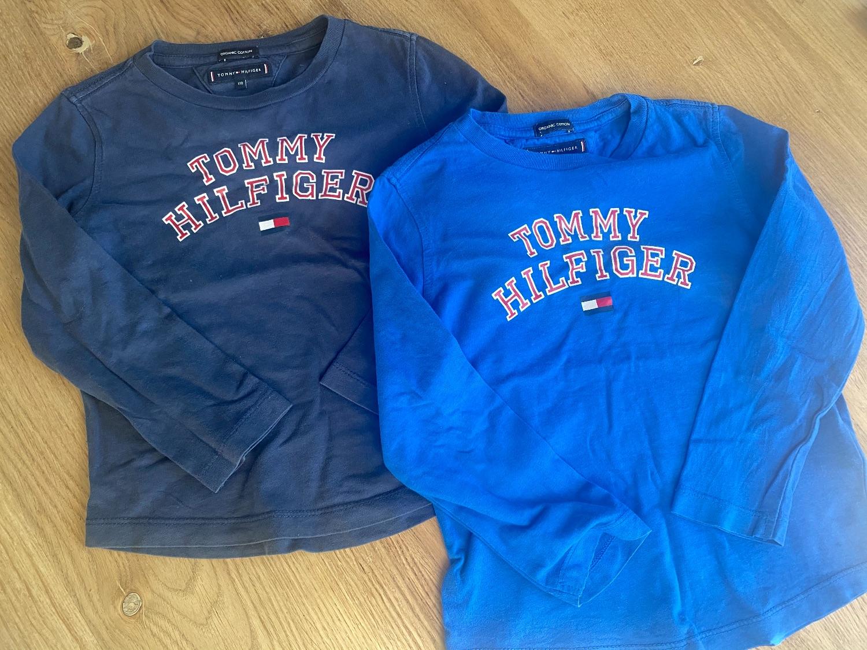 2 shirts van Tommy Hilfiger maat 110