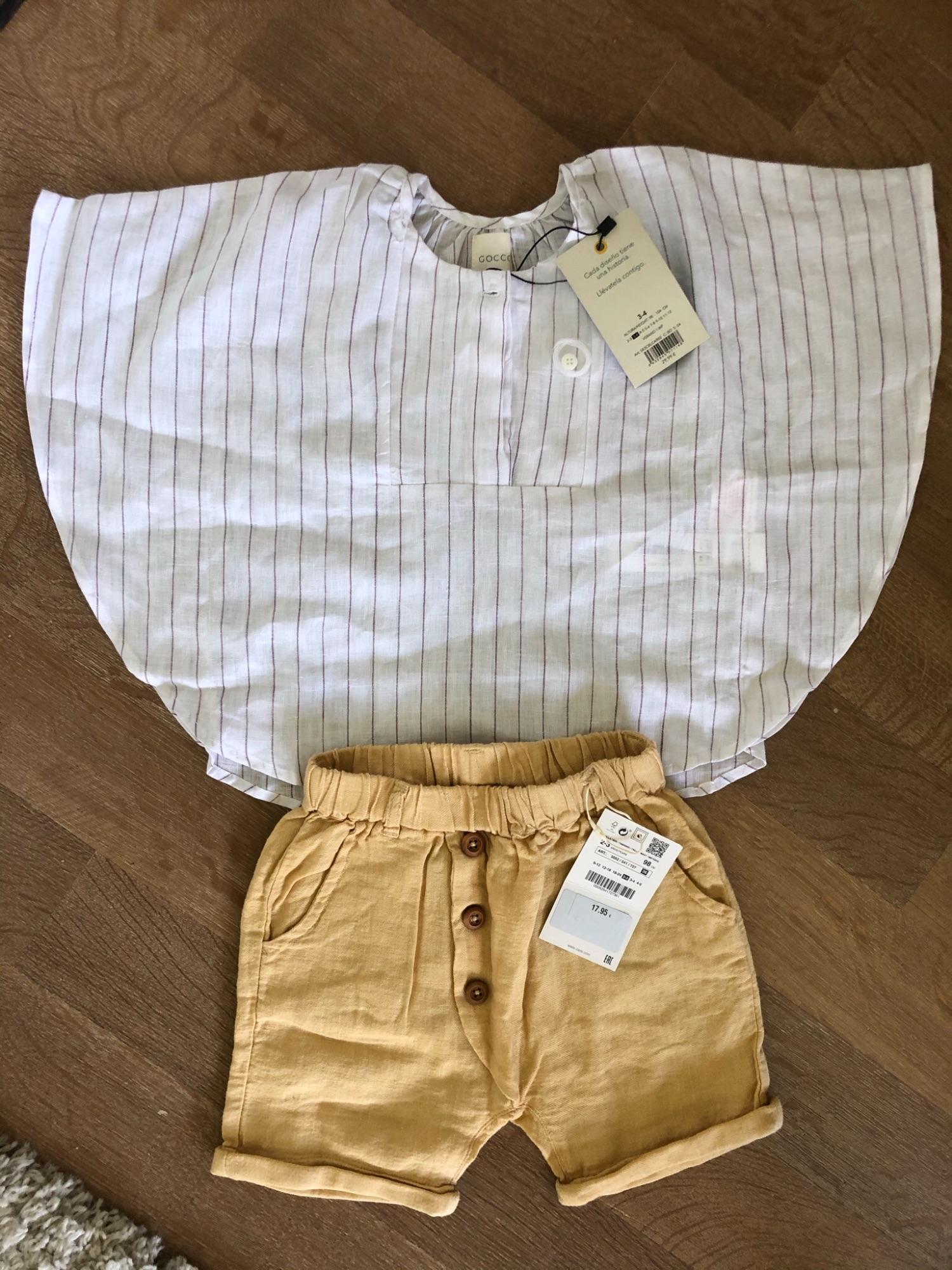Setje kleding meisje 98-104