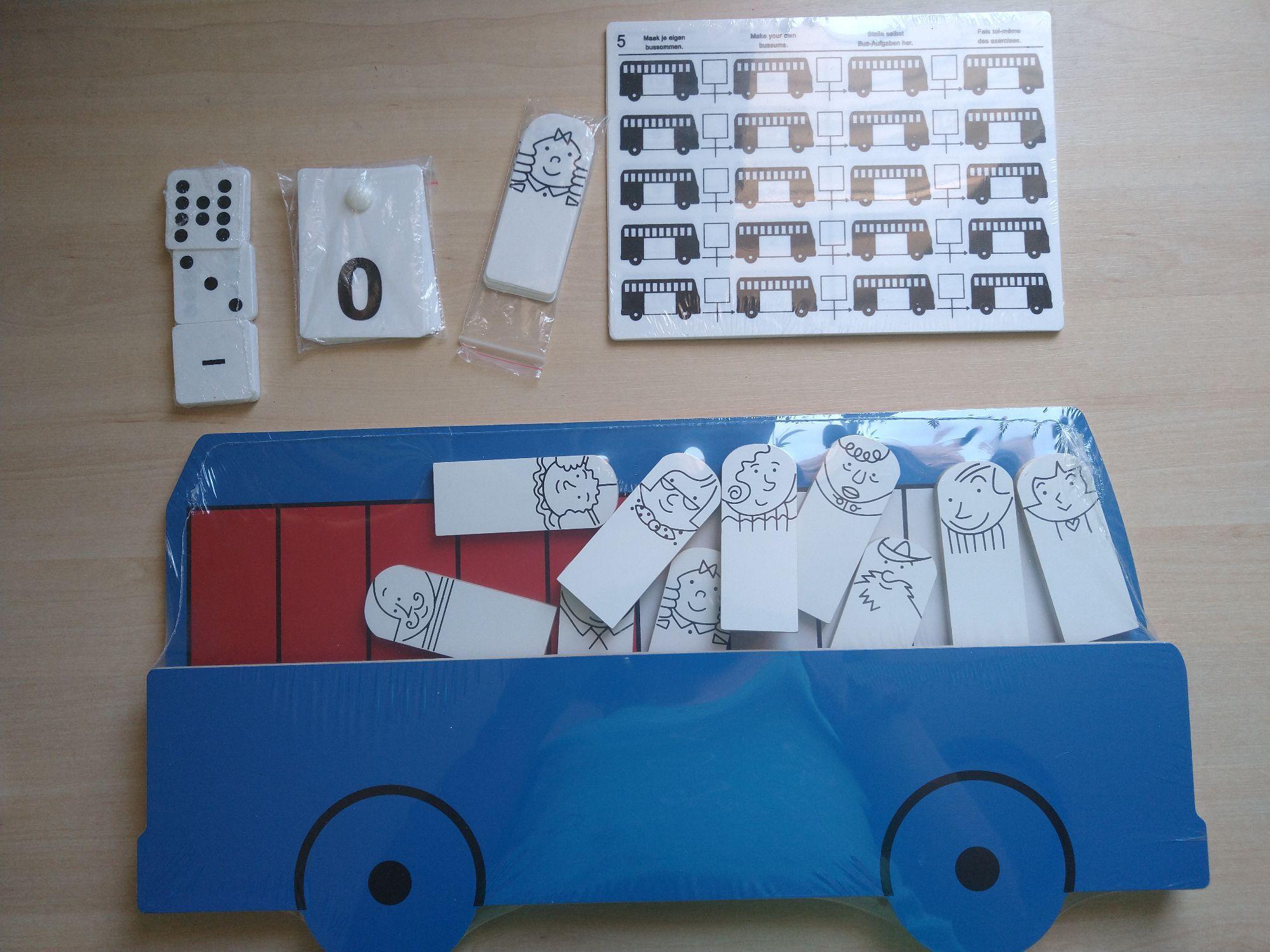 Nieuw: Bus sommen oefenen