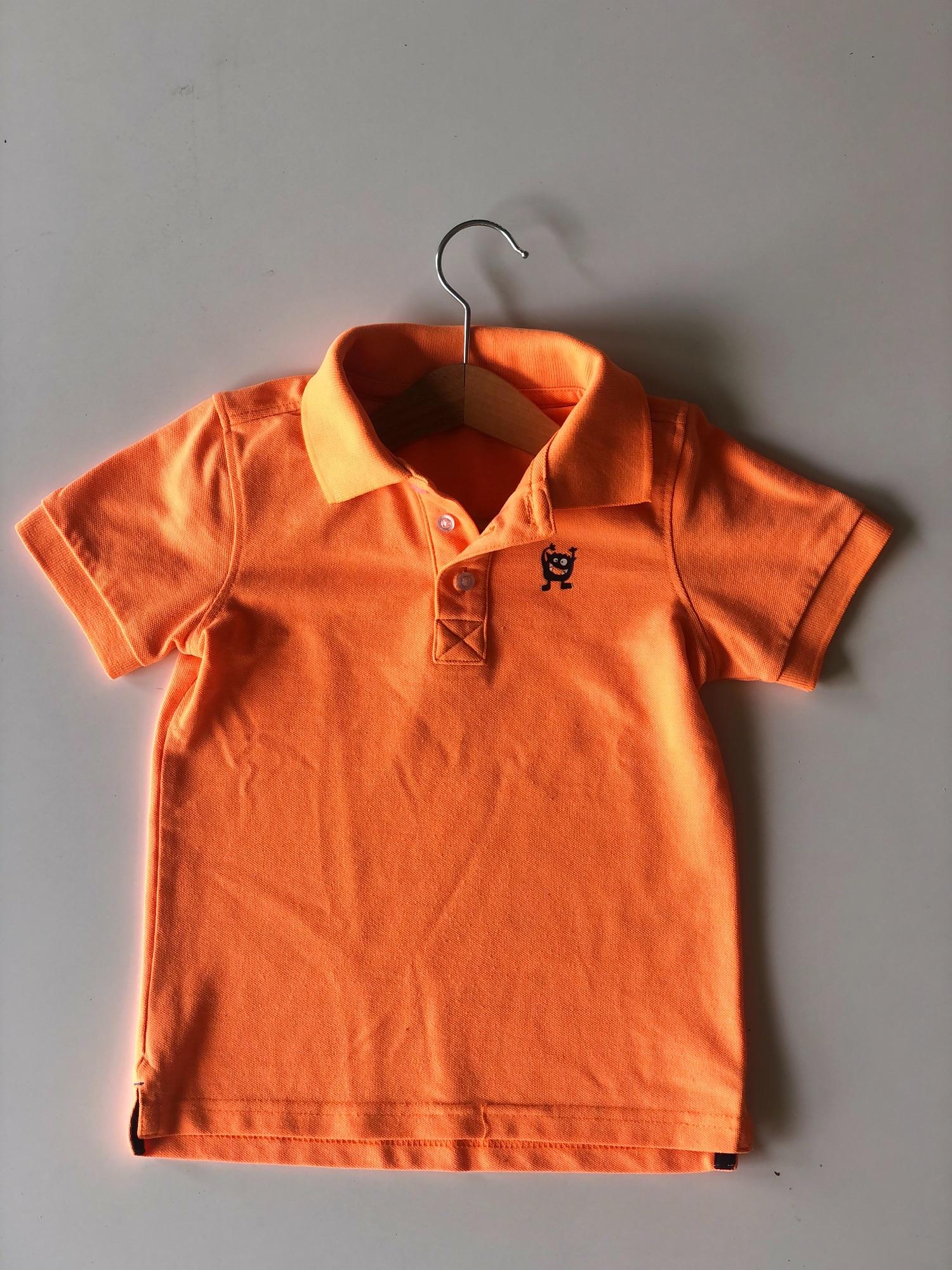 Oranje polo