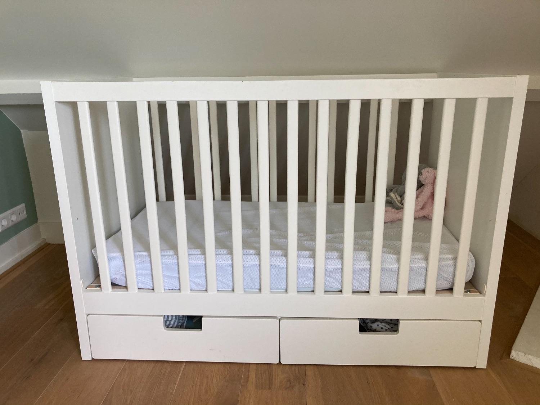 Ikea ledikant | lades en matras | goede staat