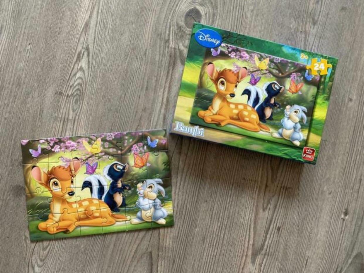 Bambi puzzel 24 stukjes