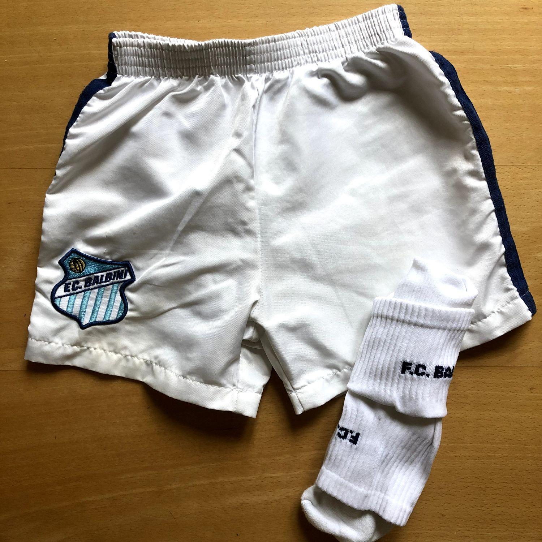 Balbini voetbal broekje & sokken - maat 98/104