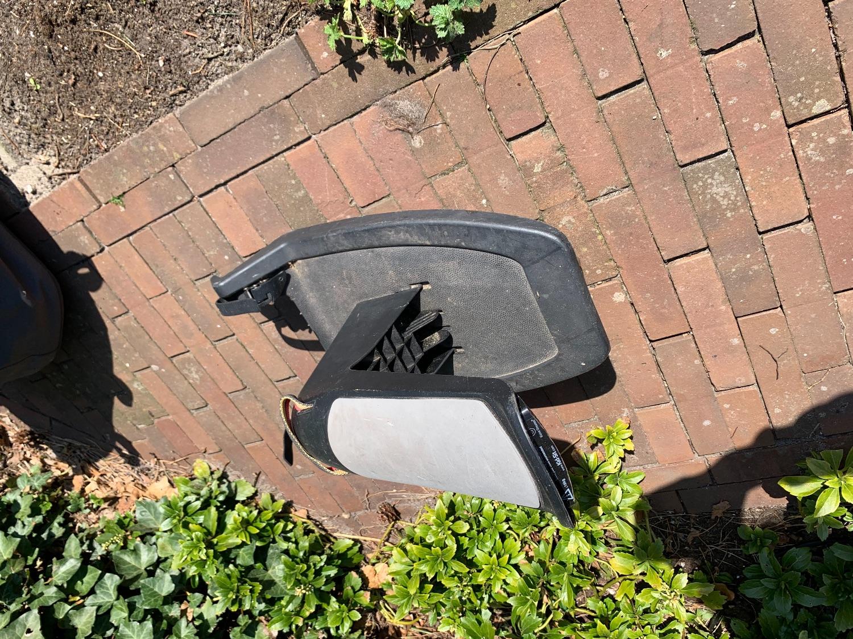 Meerij plankje voor achter kinderwagen