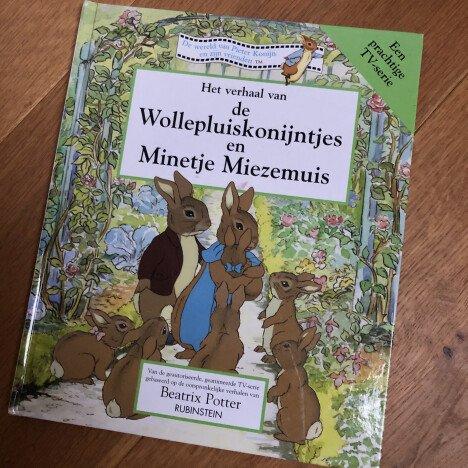 Boek Pieter Rabbit