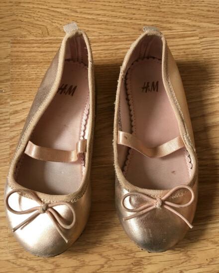 Roze ballerina schoentjes maat 25