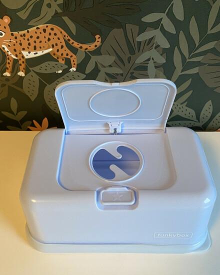 FunkyBox voor billendoekjes (lichtblauw)