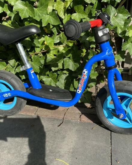 Mooie blauwe - Puky - Loopfiets