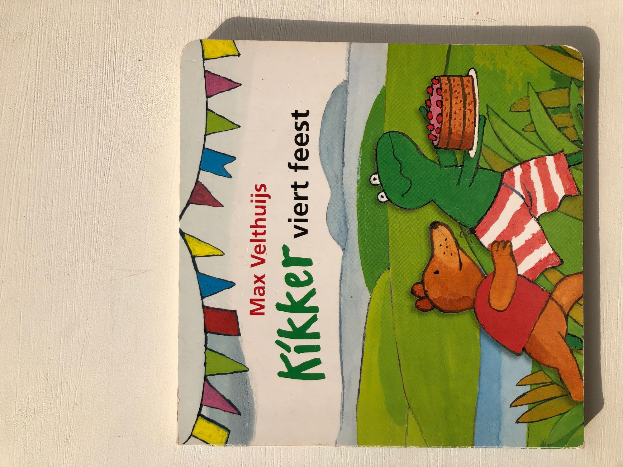 Boek Kikker viert feest
